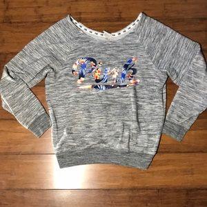 🍒Victoria's Secret PINKoff the shouldersweatshirt